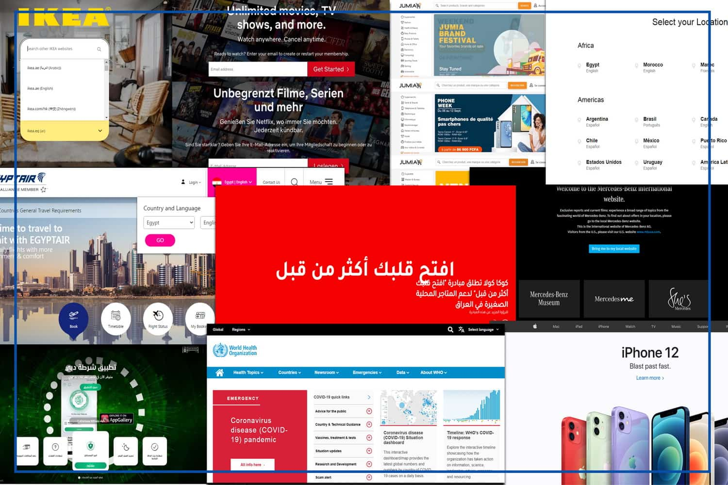 10 Multilingual Website Examples to Inspire You!